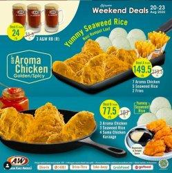 Jangan Lewatkan Promo Golden dan Spicy Aroma Chicken A&W, Diskon Hingga Rp 60 Ribu
