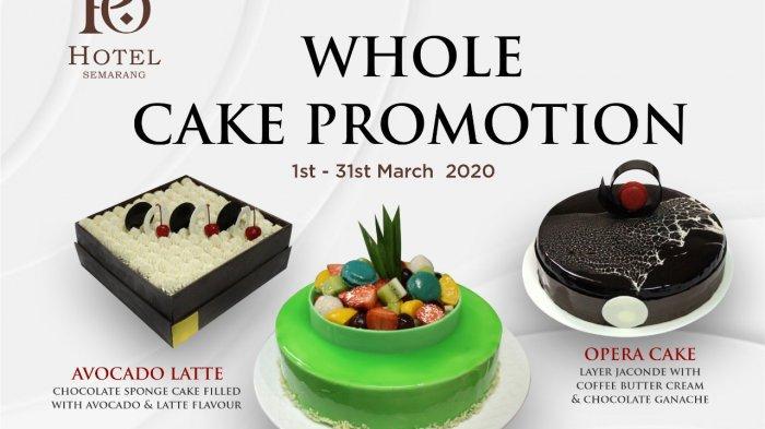 Gris Restaurant & Bar Po Hotel Semarang Tawarkan Aneka Cake Lezat Hanya Rp 288 Ribu
