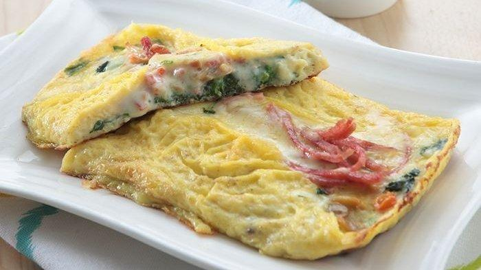 Resep Omelet Keju Bayam Lezat dan Nikmat, Pilihan Sarapan yang Praktis Hanya Butuh 25 Menit