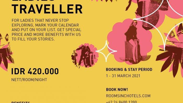 Rooms Inc Semarang Berikan Promo Menarik Bagi Para Traveller Wanita Selama Maret 2021