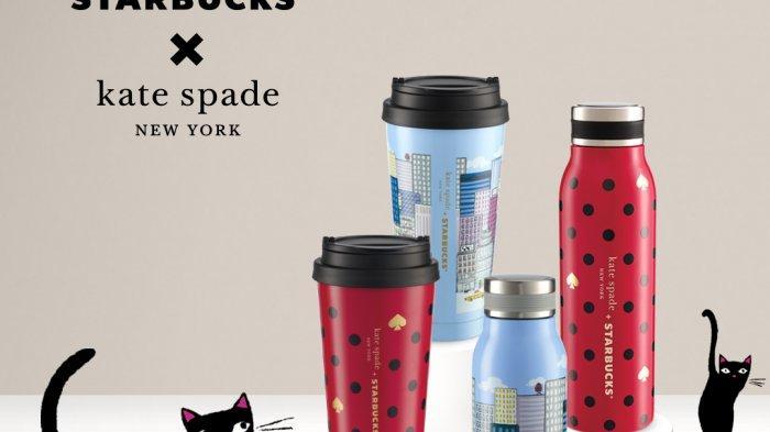 Persembahan Sempurna untuk Sambut Akhir Tahun dariKoleksi Terbaru Starbucks® X kate spade new york