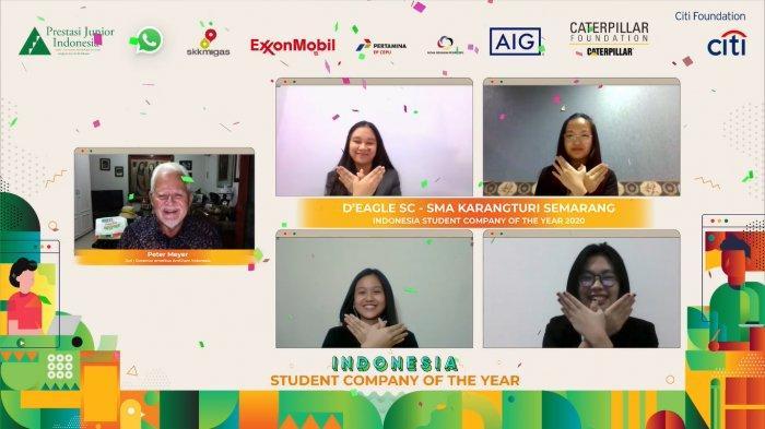 Prestasi Junior Indonesia Dorong Tumbuhnya UMKM Muda Berkonsep Perusahaan Siswa, Libatkan 900 Siswa