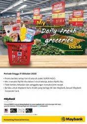 Promo Kebutuhan Sehari-Hari Maybank Berlangsung Hingga 31 Oktober 2020, Dapatkan Diskon Rp 50 Ribu