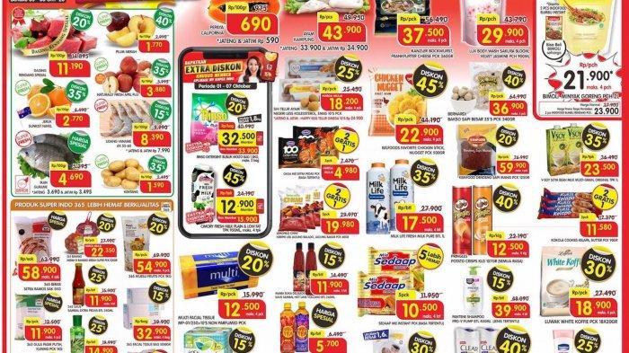 Promo Superindo Katalog Awal Pekan Periode 5-8 Oktober 2020, Diskon Hingga 45%