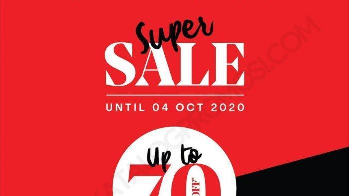 Super Sale The Executive Hadir Kembali, Diskon Hingga 70% Koleksi Pakaian Formal Hingga Kasual