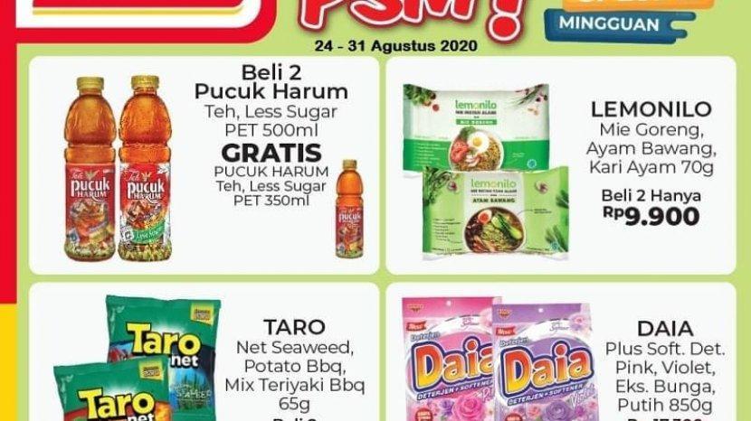 Promo Alfamart 24-30 Agustus 2020, Beli 2 Lebih Hemat Untuk Teh Pucuk Harum, Lemonilo, dan Taro