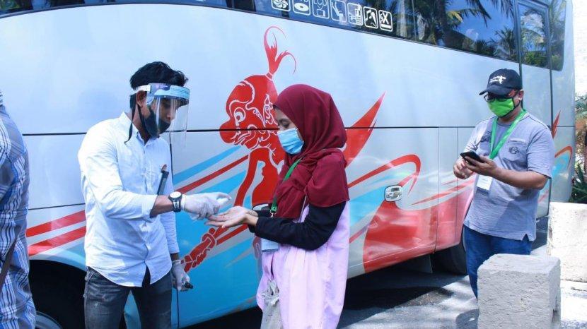 Kemenparekraf Gelar Simulasi Protokol Kesehatan pada Wisata MICE Lombok