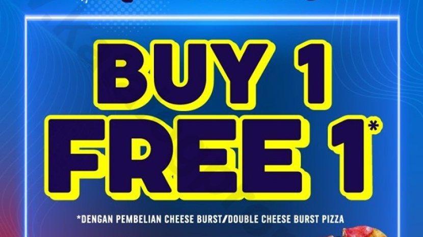 Super Weekend Super Deals dari Domino's Pizza, Beli 1 Gratis 1 Pizza