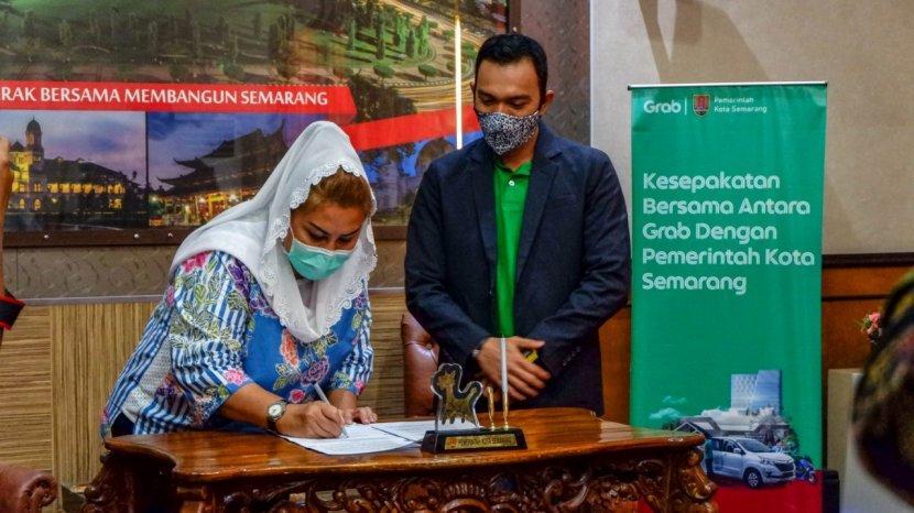 Grab dan Pemerintah Kota Semarang Siap Kembangkan Semarang Smart City