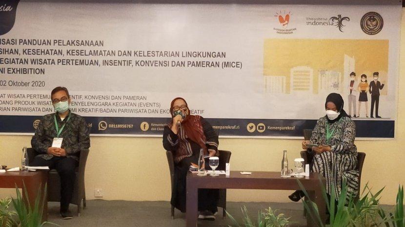 Kemenparekraf Ajak Pelaku Industri MICE di Lombok Terapkan Protokol CHSE