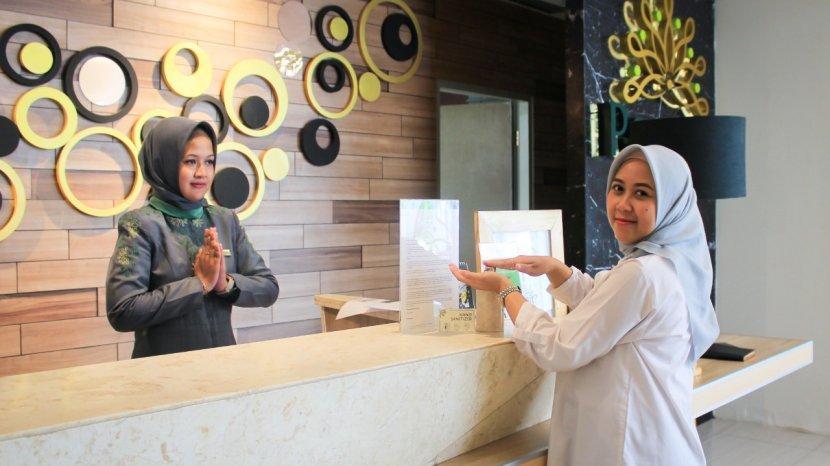 Cara Unik Pesonna Hotel Semarang Cegah Virus Corona