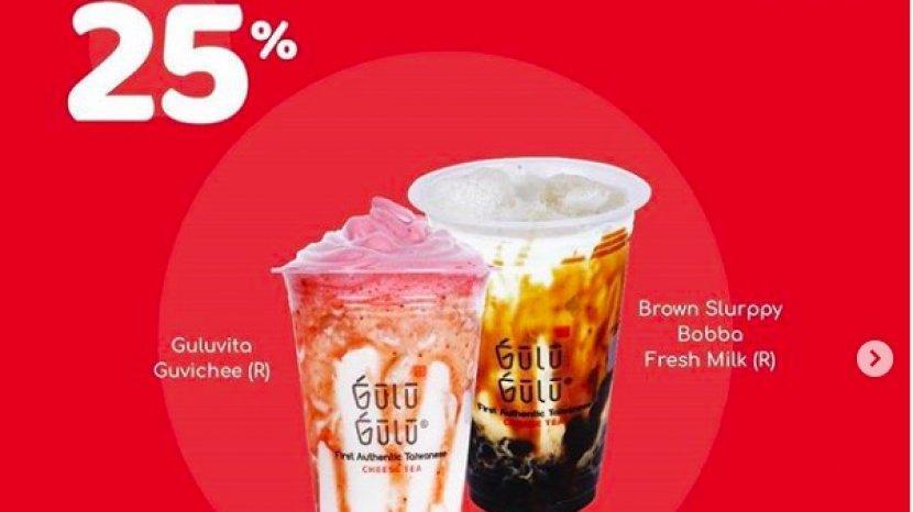 Promo Kuliner Gulu-Gulu Melalui Gofood, Beli 2 Hanya Rp 45 Ribu Mulai 19 Agustus-1 September 2020