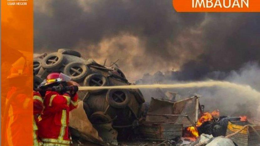 Imbauan Dari Kemlu RI Terkait Peristiwa Ledakan di Kota Beirut Lebanon