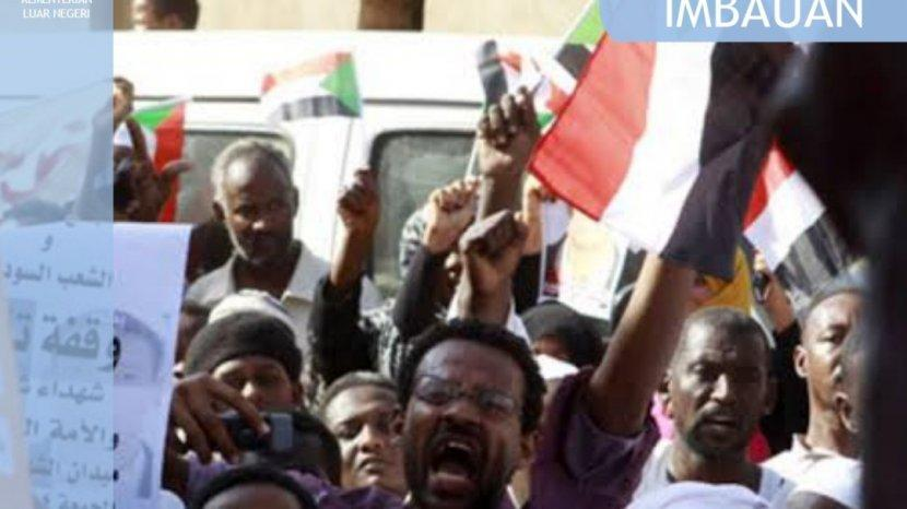 Kemlu Keluarkan Imbauan Bagi WNI di Sudan Terkait Bentrok Awal Pekan Ini