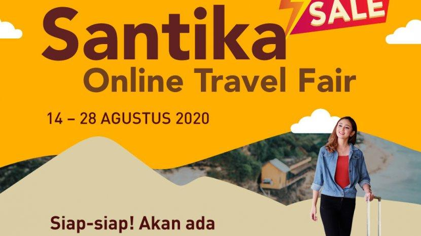 Santika Online Travel Fair Dibuka Kembali, Bersiap Flash Sale Hanya Satu Jam Petang Nanti