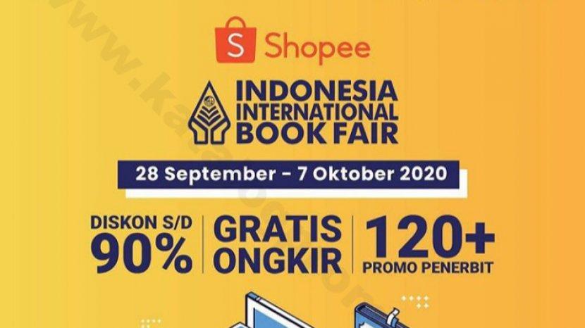 Jangan Lewatkan Promo Buku di Shopee Promo Indonesia International Book Fair, Diskon Sampai 90%
