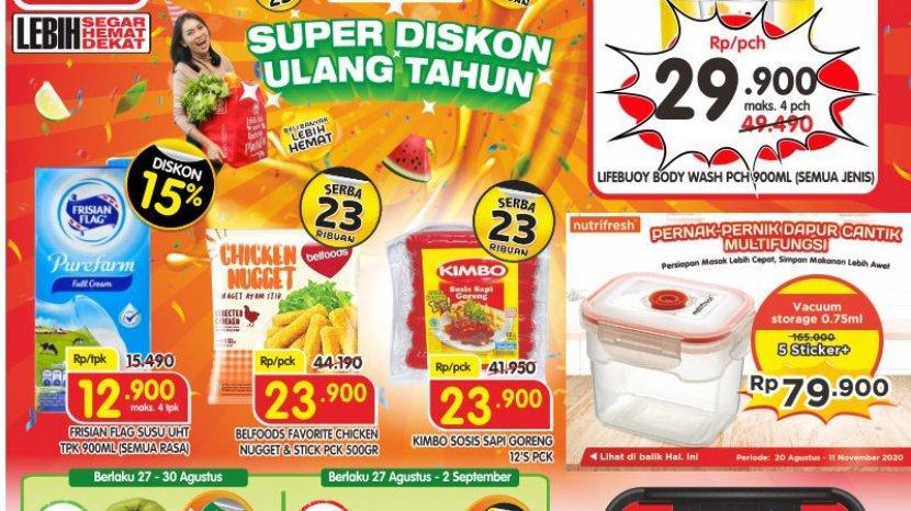 Promo Superindo Katalog Belanja Mingguin Periode 27 Agustus-2 September 2020