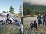 4 Seleb Indonesia yang Pernah Road Trip Naik Campervan di Selandia Baru