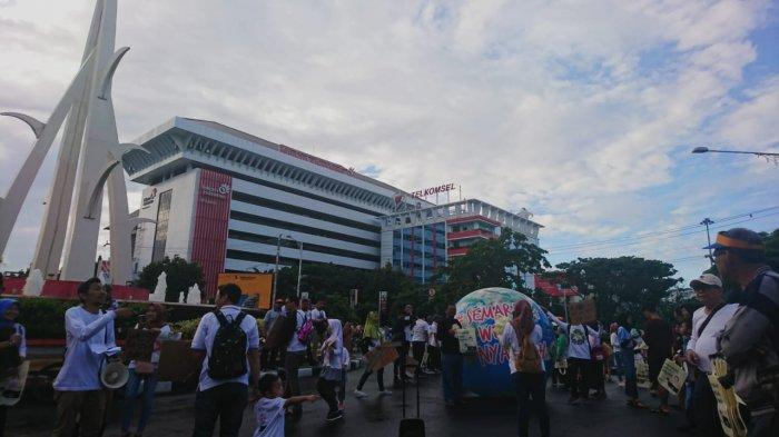 Gerakan Semarang Wegah Nyampah Ramaikan CFD Simpang Lima Semarang