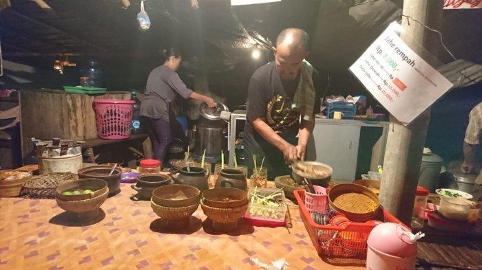 Jahe Rempah Mbah Din, Hangatkan Suasana Malam di Angkringan Pinggir Kali, Kampung Jawi, Semarang