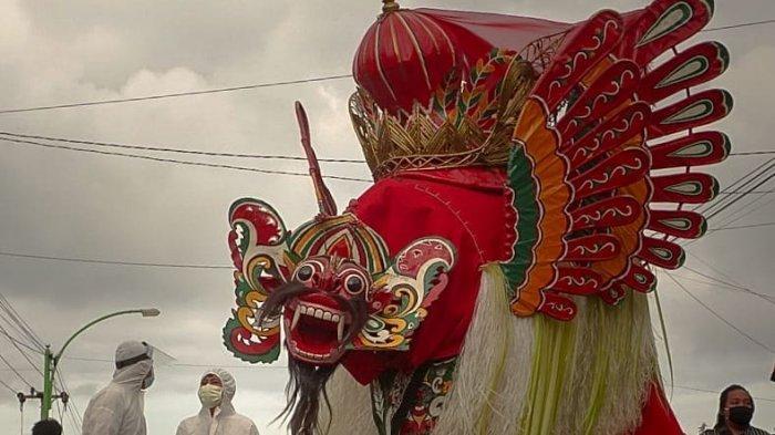 Barong Ider Bumi, ritual masyarakat Osing di Kemirem yang dilakukan setiap tanggal 2 syawal