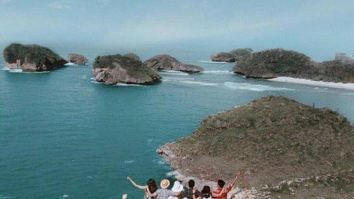 Menyusuri Pesona Pantai Kasap di Pacitan yang Dijuluki Miniatur Raja Ampat di Jawa Timur
