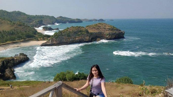 Spot favorite pengunjung Pantai Kasap Pacitan