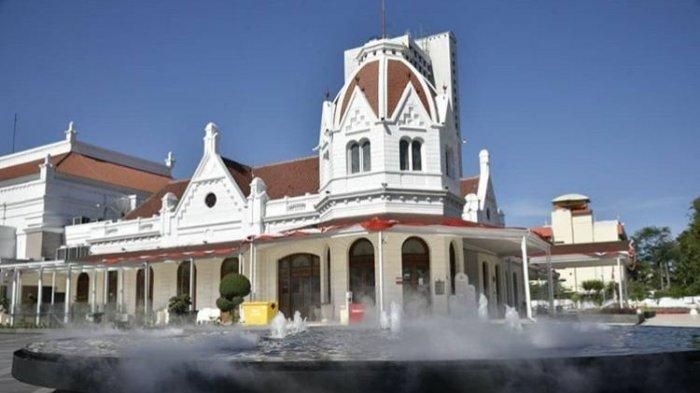Lima Tempat Olahraga di Kota Surabaya, Ada Alun-Alun Dihiasi Air Mancur Berkabut