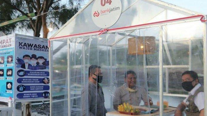 Ada Bilik Kuliner Steril di Kawasan Kampung Mandar Banyuwangi