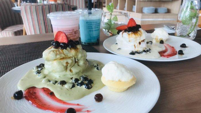 Boba Pancake dan Tea Senja ala Fairfield by Marriot, Dessert Lengkap Menemani Senja. Bikin Ngiler!