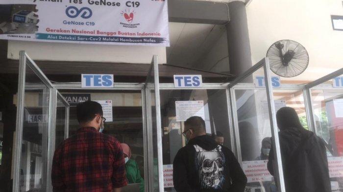 Mudah dan Cepat, Cara Test GeNose di Stasiun Gubeng Surabaya yang Cuma Bayar Ro 20. 000