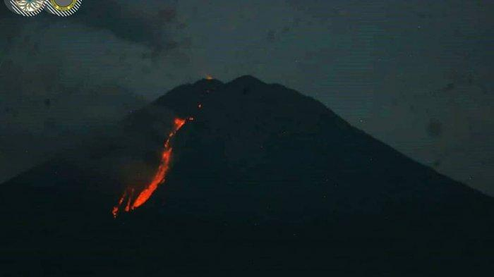 UPDATE : Aktivitas Vulkanologi Gunung Semeru Melandai, Warga Tetap Diminta Waspada