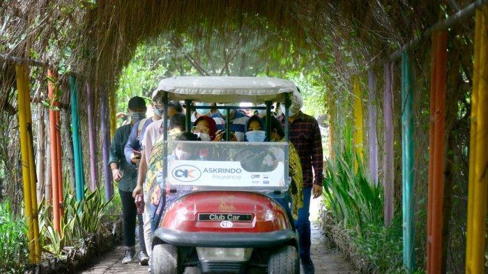 Libur Natal dan Tahun Baru, Asyik Bersantai di Hutan Kota di Surabaya