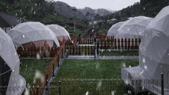 Lembah Indah Malang Glamour Camp Pemandangan Keindahan Alam Lereng Gunung Kawi