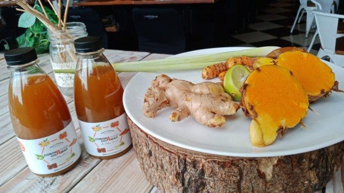 Minuman Corona Go Away ala Luminor Hotel Jemursari, Racikan Rempah Tingkatkan Imunitas Tubuh