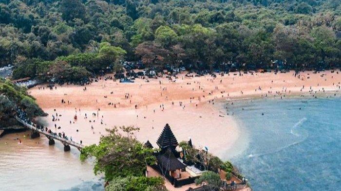 Pengunjung Tak Pakai Masker, Pantai Balekambang Malang Ditutup Lagi