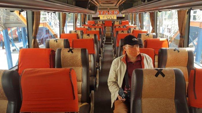 Syarat Penumpang Bus Terminal Purabaya Saat Transisi New Normal