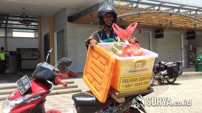 Layanan Pesan Antar Belanja, Cara Pasar Joyo Agung Malang Cegah Mata Rantai Penyebaran Corona