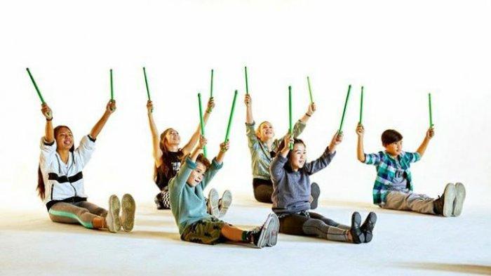 Keseruan Olahraga Pound Fit, Gerakan Menyerupai Tabuh Drum