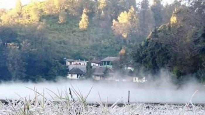 Ranu Pani Dipoles Jadi Wisata Unggulan, Wisata Suhu Minus Kawasan Bromo Tengger Semeru