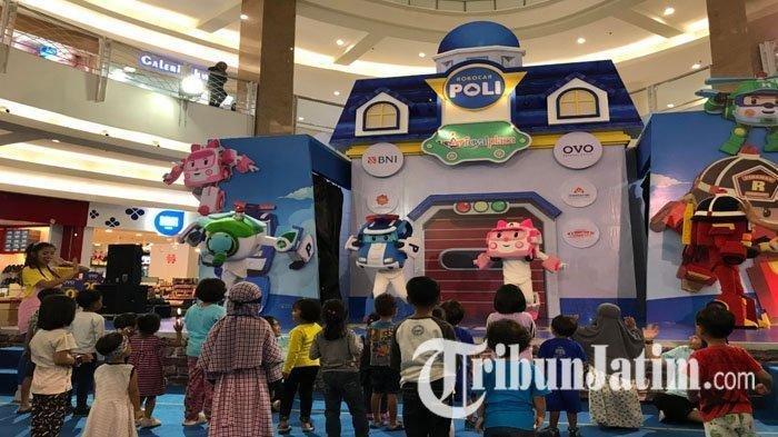 Keseruan Bermain Bersama Robocar Poly di Royal Plaza, Cocok untuk Wisata Edukasi Anak