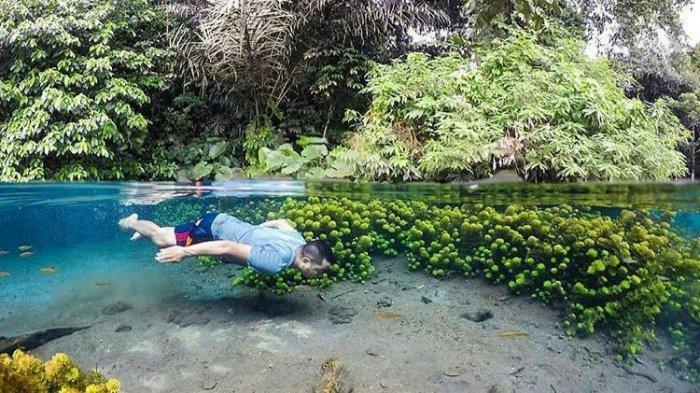 Berenang di Sumber Sirah, Kesegaran Pesona Sumber Mata Air yang Bening