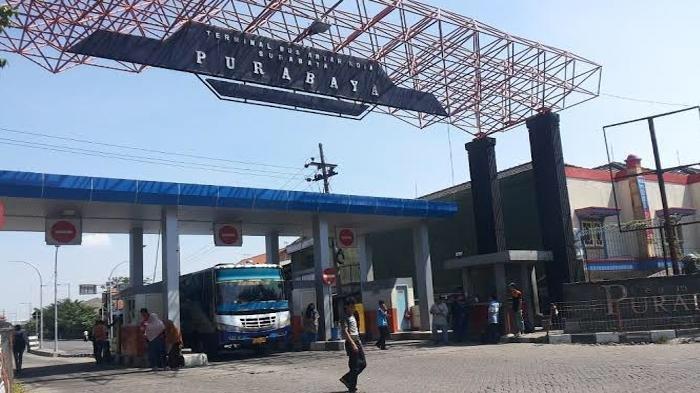 PSBB Surabaya Mulai Diterapkan, Jalur Bus AKAP dan AKDP di Terminal Purabaya Dikosongkan