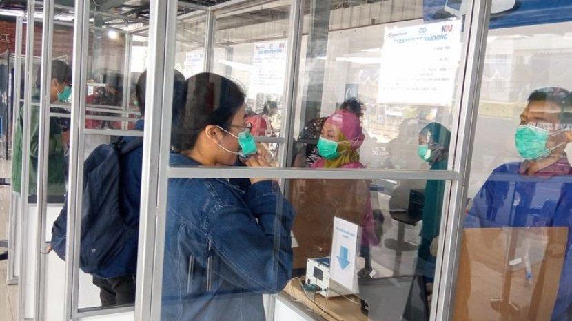 Berniat Tes GeNose di Stasiun Gubeng Surabaya? Baca Syaratnya, Calon Penumpang Dilarang Makan