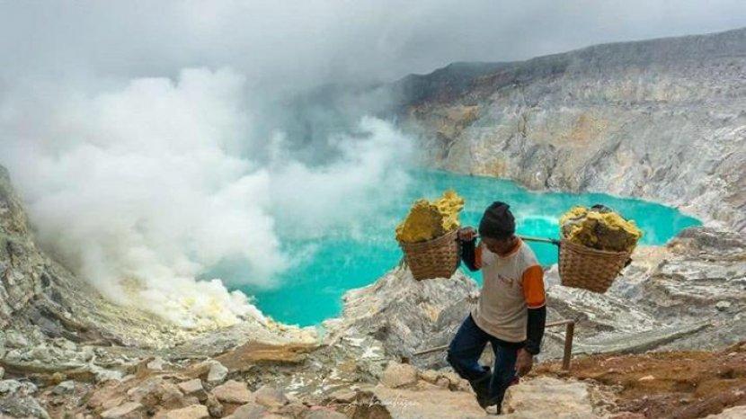 Simulasi Wisata New Normal Gunung Ijen, Kuota 225 Pengunjung. Catat Tanggalnya