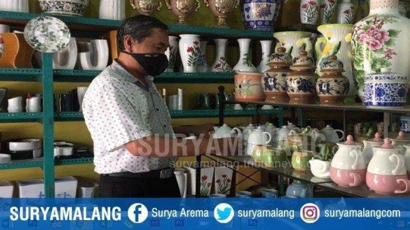 Kampung Wisata : Sentra Kerajinan Keramik Dinoyo Malang, Wisata Belanja Souvenir  dan Oleh-Oleh