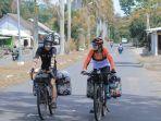 Bule Maia Asal Spanyol Cerita Tantangan Keliling Indonesia Naik Sepeda, Ada Medan Paling Menantang?