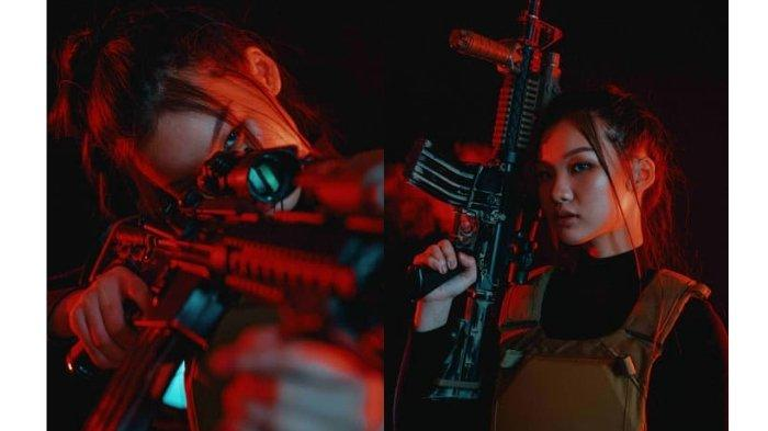 Outfit Gelap Berkonsep Agen Militer Tangguh, Adopsi Karakter Wanita dalam Game Online