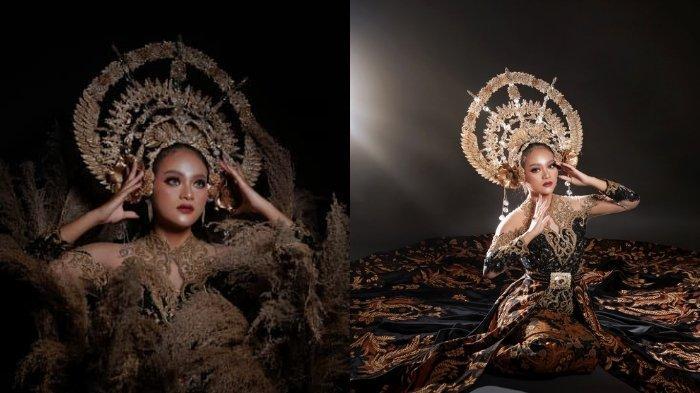 Headpiece Etnik Bernuansa Gold Karya Ipank Capello, Gambarkan Sosok 'Dewi' dalam Legenda Kerajaan