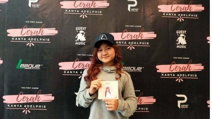 Ceritak Soal Harapan dalam Album 'Cerah' Karya Kanya Adelphie, Penyanyi Remaja Bergengre Hip-hop R&B